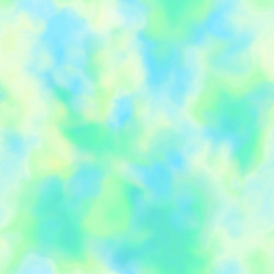 Unicorn Dreams Cloud Texture Green