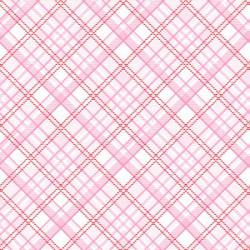 Gnomie Pink Plaid