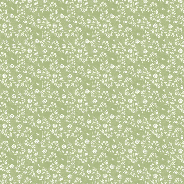 Art of Beekeeping Green Small Floral