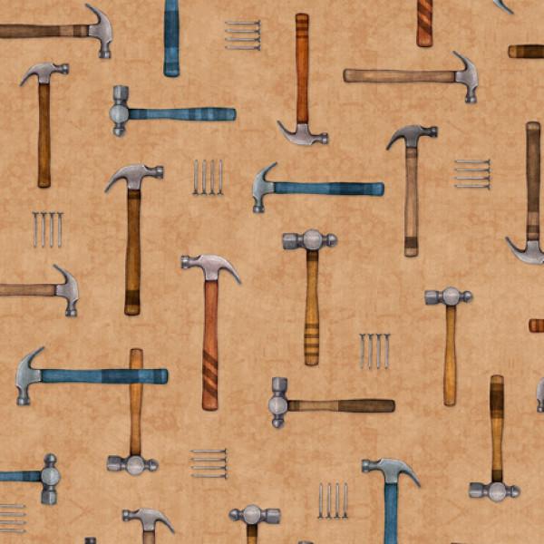 A Little Handy Hammers on Dk. Tan