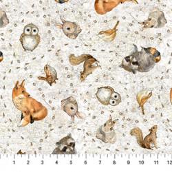Tenderfoot Animals on Gray