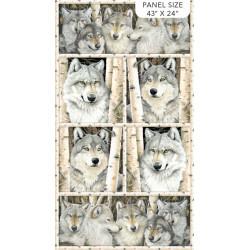 Gray Wolf Panel