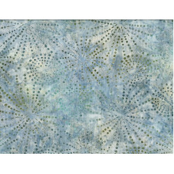 Sparkles  Blue/Green Batik