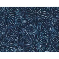 Sparkles Blue Batik