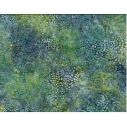 Mosaic Blue Green Batik