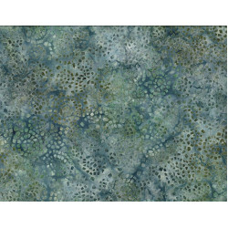 Mosaic Green Blue Batik
