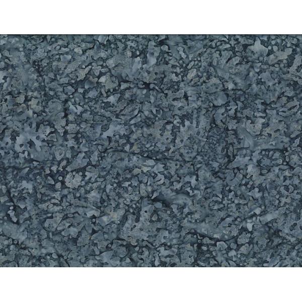 Water Spots Dk Blue Batik