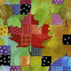 Leaf Dance Tree/Leaf Patchwork