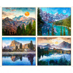 Untamed Mountian Picture Panels