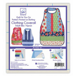 Quilt as you Go Adult Bib