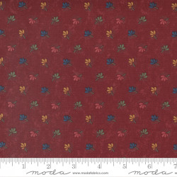 Maple Hill Filigree on Red