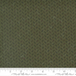 Maple Hill Dots on Green
