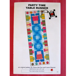 Party Time Table Runner Pattern