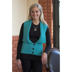 Woman's Cabled Vest Pattern