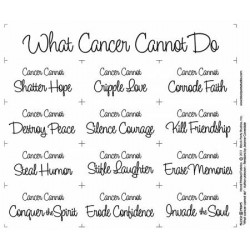 What Cancer Can't Do