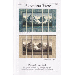Mountain View Quilt Pattern