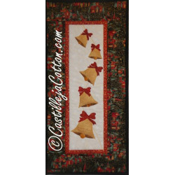 Ringing Bells Wall Hanging Pattern