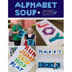 Alphabet Soup Quilt Book