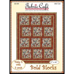 Bold Blocks Quilt Pattern
