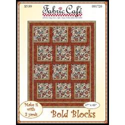 Bold Blocks Quilt Pattern