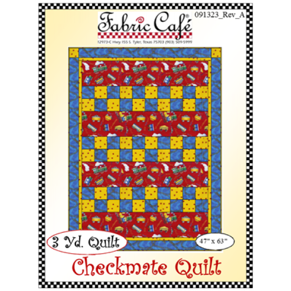 Checkmate Quilt Pattern