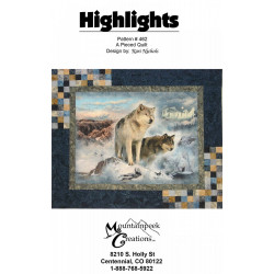 Highlights quilt pattern