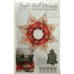 Jingle Bell Wreath Pattern