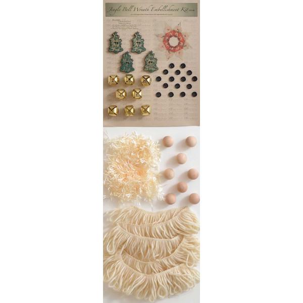 Jingle Bell Wreath Embellishment Kit