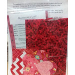 Be My Valentine Applique Kit