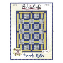 Porch Rails Quilt Pattern