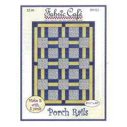 Porch Rails Quilt Pattern