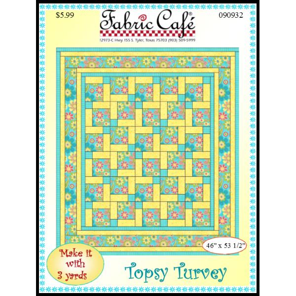 Topsy Turvey Quilt Pattern