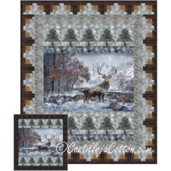 Mountain Stag Quilt Pattern