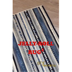 Jelly-Roll Rug 2 Pattern
