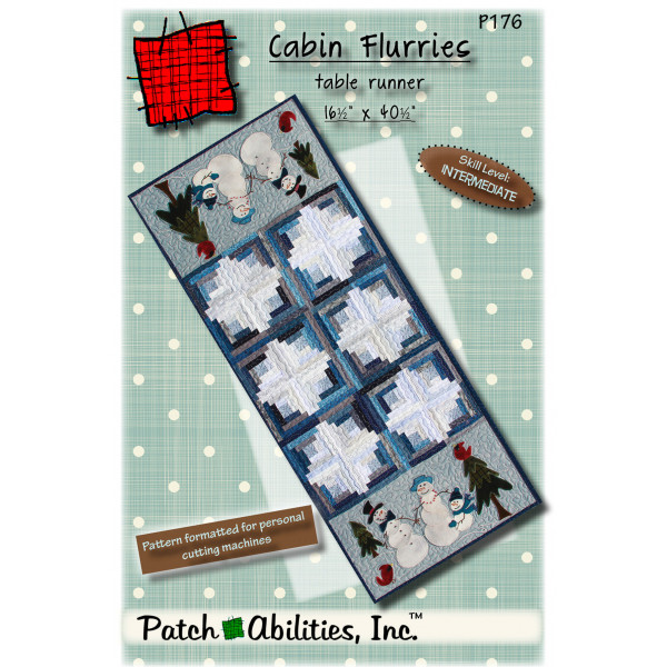 Cabin Flurries Table Runner