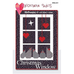 Christmas Window Wallhanging