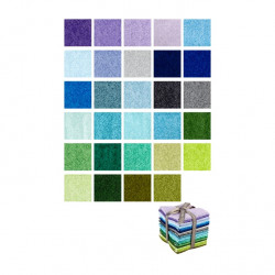 Color Blends cool Fat Quarter Bundle