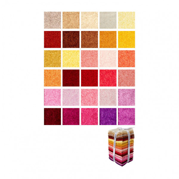 Color Blends Warm FQ Bundle