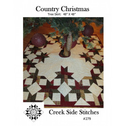 Country Christmas Tree Skirt