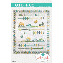 Going Places quilt pattern