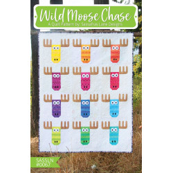 Wild Moose chase Quilt Pattern