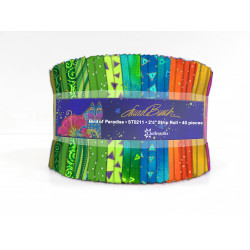Laurel Burch Jelly Roll Bird of Paradise