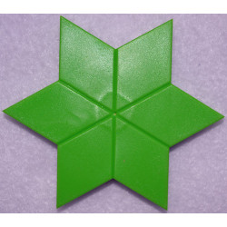 Pin Pal Lime Green Star