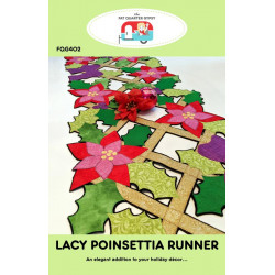 Lacy Poinsettia Runner