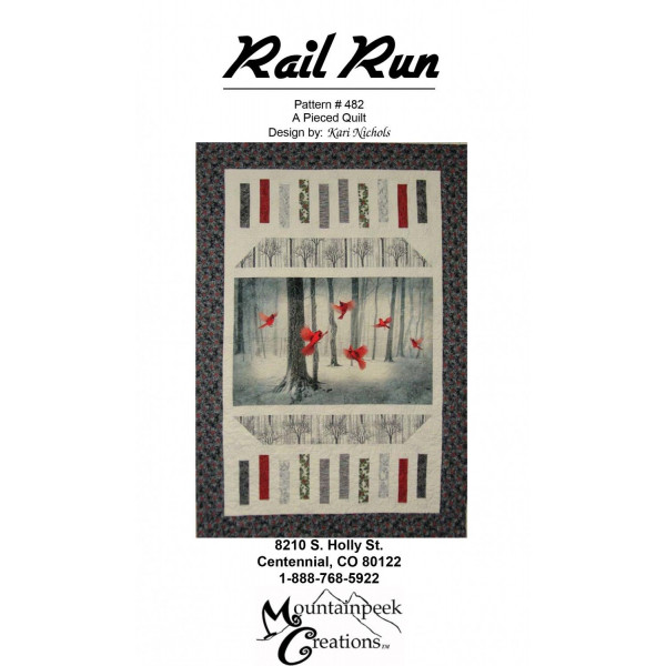 Rail Run Quilt Pattern