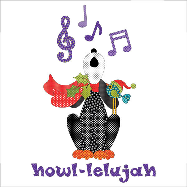 Howl-Lelujah Applique
