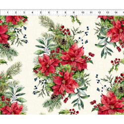 Poinsettia Winter Flower Bunches