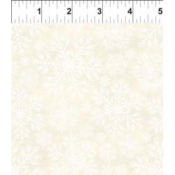 Poinsettia Winter Snowflake