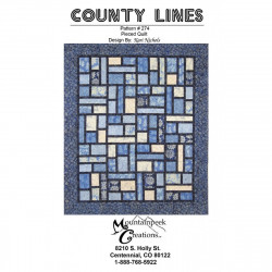 County Lines Quilt Pattern