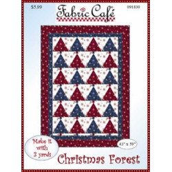 Christmas Forest Quilt Pattern
